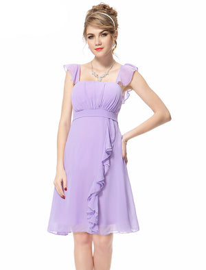 Free Shipping Crystal Beads Cake Layered Vintage Cocktail Dress