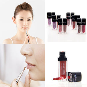 2016 Beauty Women Waterproof Liquid Lipstick Lip Gloss Long Lasting Pencil Makeup 12 Colors - Gifts Leads