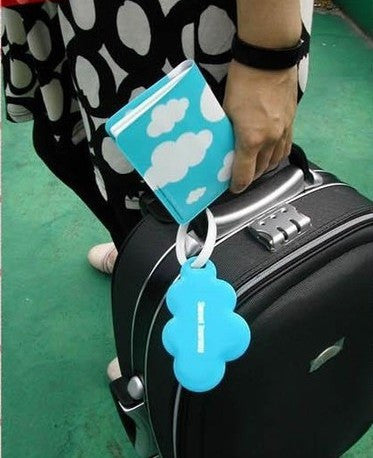 Passport Cover, Passport Holder + Luggage Tag + Silicone Strap