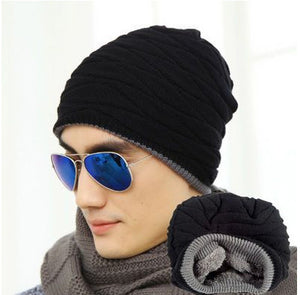 New Year Man's & Female Spring & Winter Bone Fashion Knitted