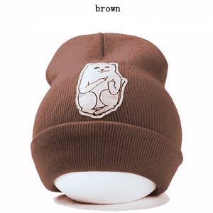 2016 autumn winter spring new style cat wool knit hat