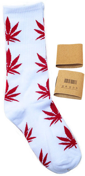 More over 100 colors Summer Style Bamboo Leaves Socks