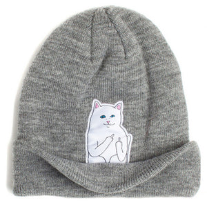 2016 autumn winter spring new style cat wool knit hat - Gifts Leads