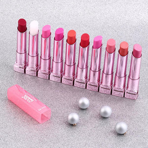 Moisturize Nutritious 1pc Cosmetic Makeup Long Lasting Bright Lipstick Lip Stick Different Colors Top Quality