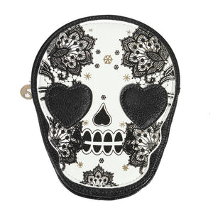 New Bags Women Skull Head Shoulder Crossbody Small Personalized Messenger Bag Handbag Hight Quality Vintage Cute Style 2016