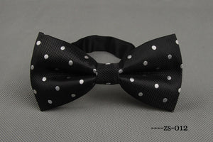 Newest Polyester Men's Bow Tie Brand Classic Dot Tie Bowtie