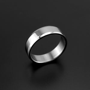 Fashion ring glossy personality 316L stainless steel ring for men