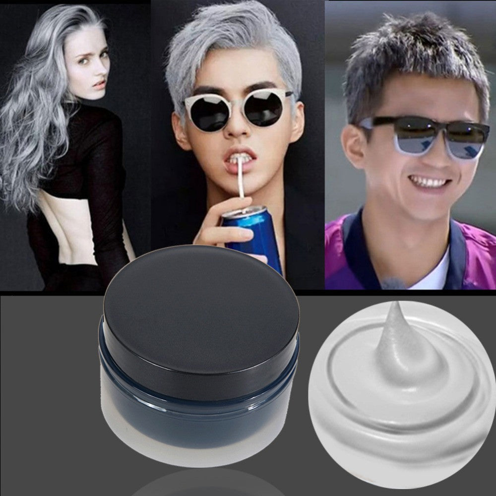 100ml Temporary Hair Dye Cream Hair Color Wax Mud Hair Fashion Modeling Hair Coloring Products 5 Colors for your choice - Gifts Leads