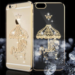 For iphone 6 Capa Cute Glitter Rhinestone Diamond Luxury Case