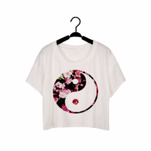 Hot Style Women Fashion Tops Printing White Sexy Summer