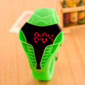 Waterproof Cobra wristwatch Touch Screen Digital Watches