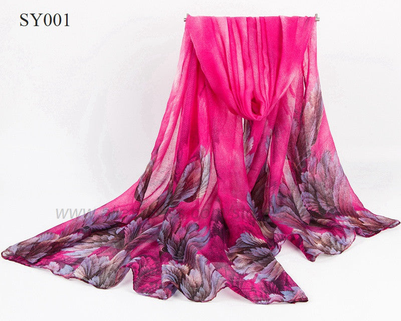 Autumn and Spring scarf women fashion long echarpe