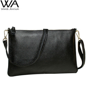 Genuine Leather Women Clutch Real Leather