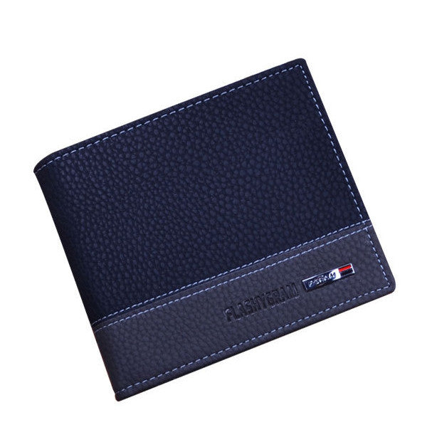 2016 Designer brand business black leather Men wallets - Gifts Leads