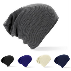 2016 New Winter Beanies Solid Color Unisex Plain Warm Soft