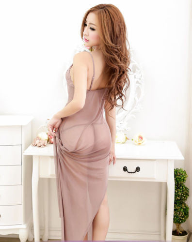 Women's Sexy Lingerie long dress Sleepwear Underwear Night