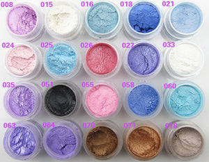 20 Colors Shimmer Eye Shadow Powder Pigment Mineral Naked Matt Shadows Highlighters Brightens Professional Brand Makeup - Gifts Leads