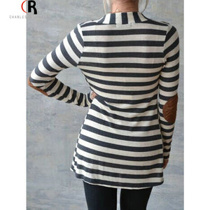 Black White PU Patching Elbow Long Sleeve Jersey