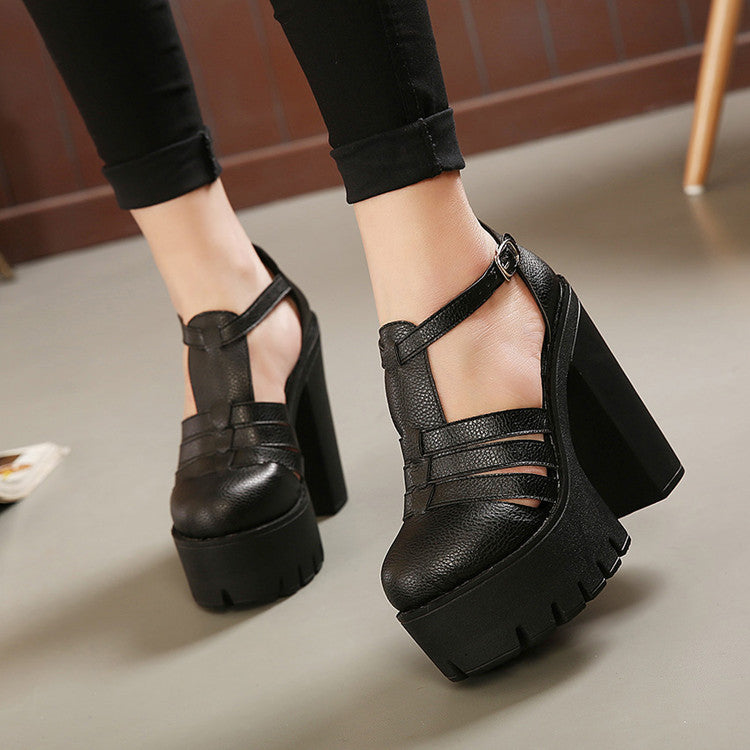 Hot 2016 new summer fashion high platform sandals women