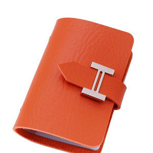 Fashion 20 Card slot High Quality PU Faux Leather