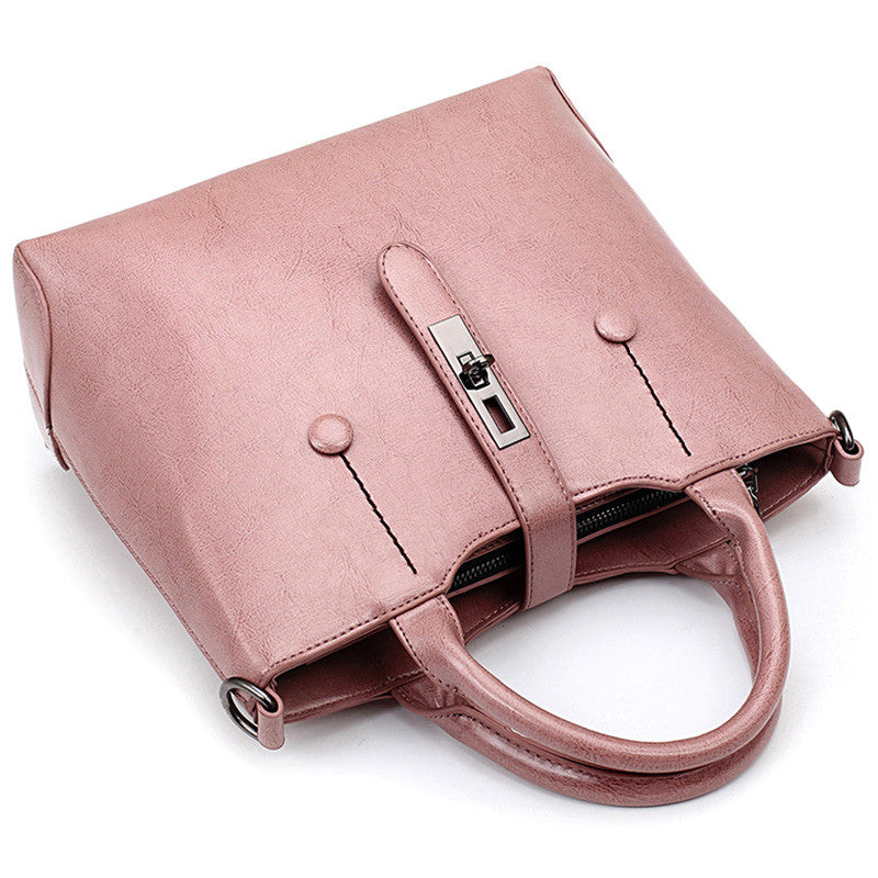 Famous Brand Ladies Hand Bags Women PU Leather Bag Brown Medium Shoulder Bags 2016 Spring Sacs New Fashion Messenger Bags Frauen