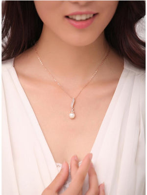 18K Gold Plated  ,White gold plated ,Pear Jewelry Sets made with  austrian crystal - Gifts Leads