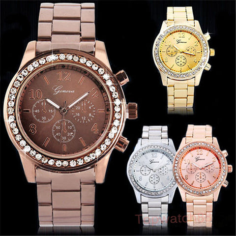 2016 Casual Watch Geneva Unisex Quartz Watches Women - Gifts Leads