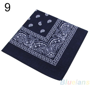 Hip-hop bandanas for Male female men women head scarf Scarves
