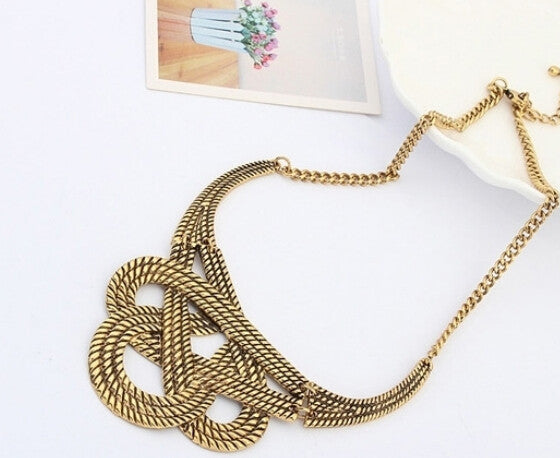 Hot necklace fashion party chunky luxury choker statement necklace  women