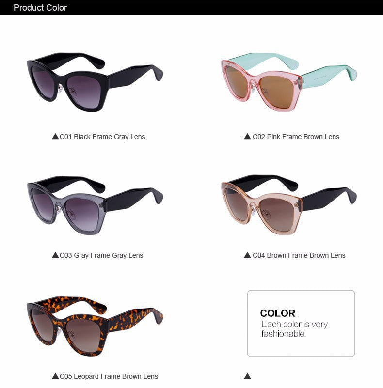 2016 Newest Butterfly Brand Eyewear Fashion Sunglasses