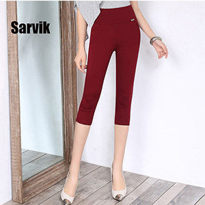 2016 women office work pants High stretch cotton ladies