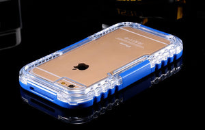 Waterproof Transparent Crystal Clear Case For iphone 6 Plus