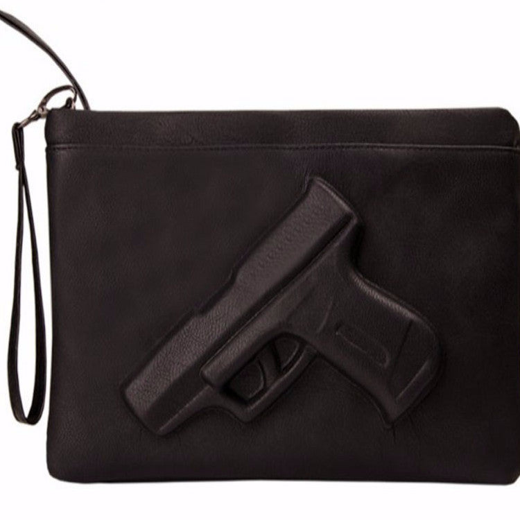 Vlieger & Vandam Women hot gun bag 3d cartoon bag pistol
