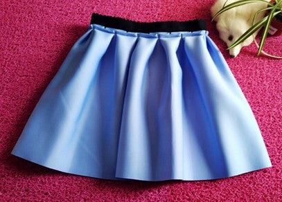 2016 Autumn And Winter High Street Women Mini Skirt Ball Gown Underskirt High Waist Pleated Skirt For Girls - Gifts Leads