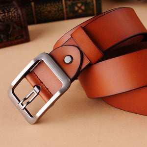 2016 100% Genuine Leather belts for men High quality - Gifts Leads
