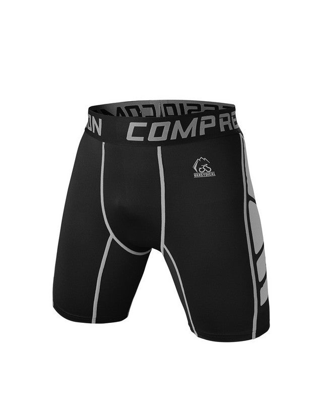 Brand Sexy Mens Workout Tights Elastic Gym Running Shorts
