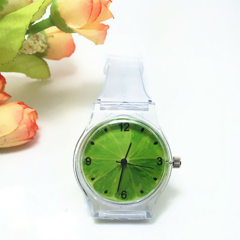 Crystal Watch Cartoon Novelty Student/Women Watch
