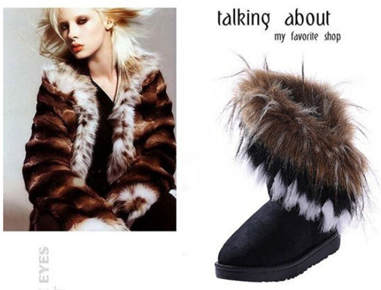 2016 Autumn Winter Warm high long snow boots - Gifts Leads