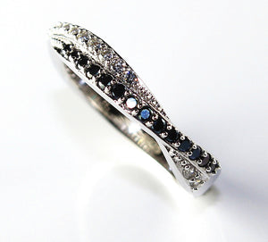 Eiffel tower rings wedding bague for Women 925 sterling silver jewelry