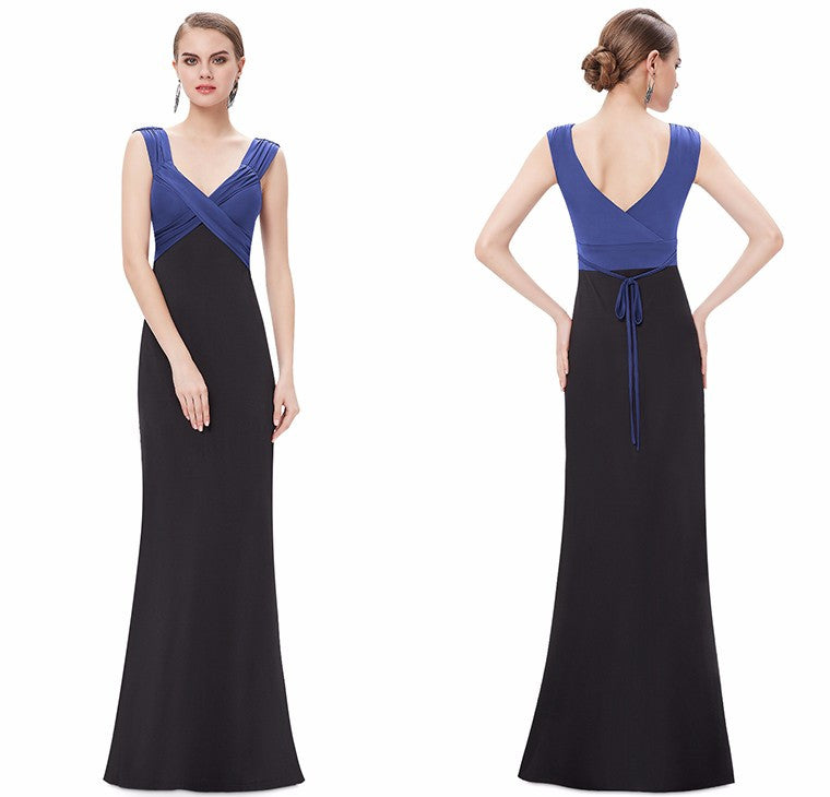 Ever Pretty Elegant V Neck Evening Dress