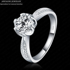 """S925 2016 Fashion Brilliant Rings for Women Wedding Jewelry - Gifts Leads"