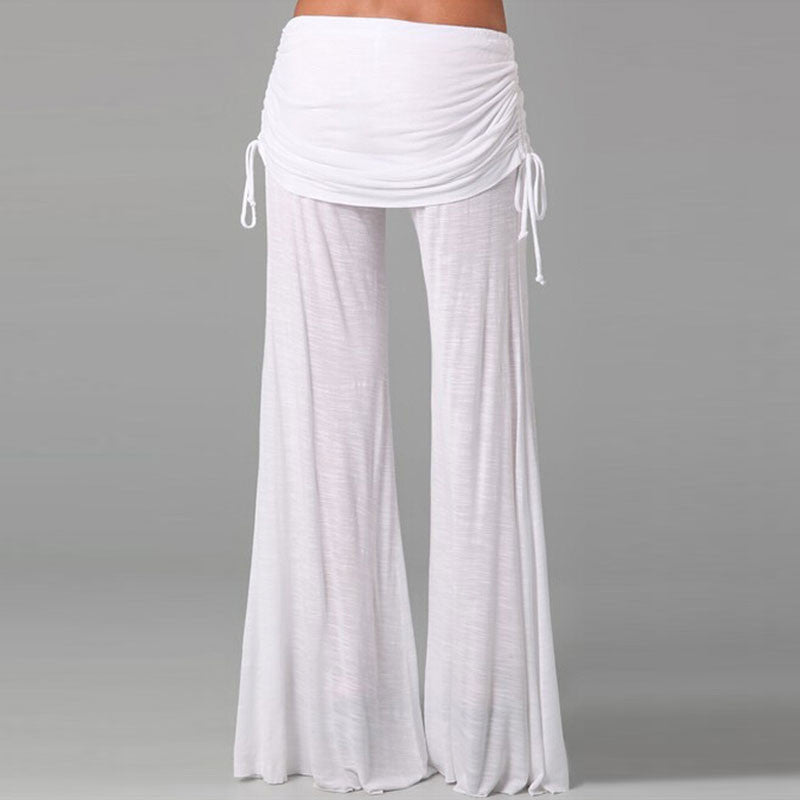 2016 Wide Leg Pants Plus Size Summer Spring Dancing Sport