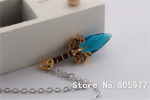 Fashion Lover's Pendant Necklace Hot Online Game Dota 2 Necklace Aghanim's Scepter God Rod Pendant Necklace New Dato2 Jewelry