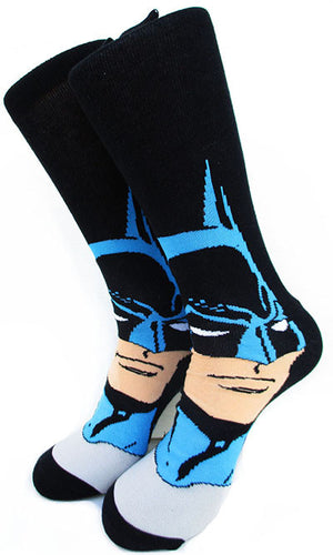 100% Cotton Jacquard Socks of Super Heroes Captain America - Gifts Leads
