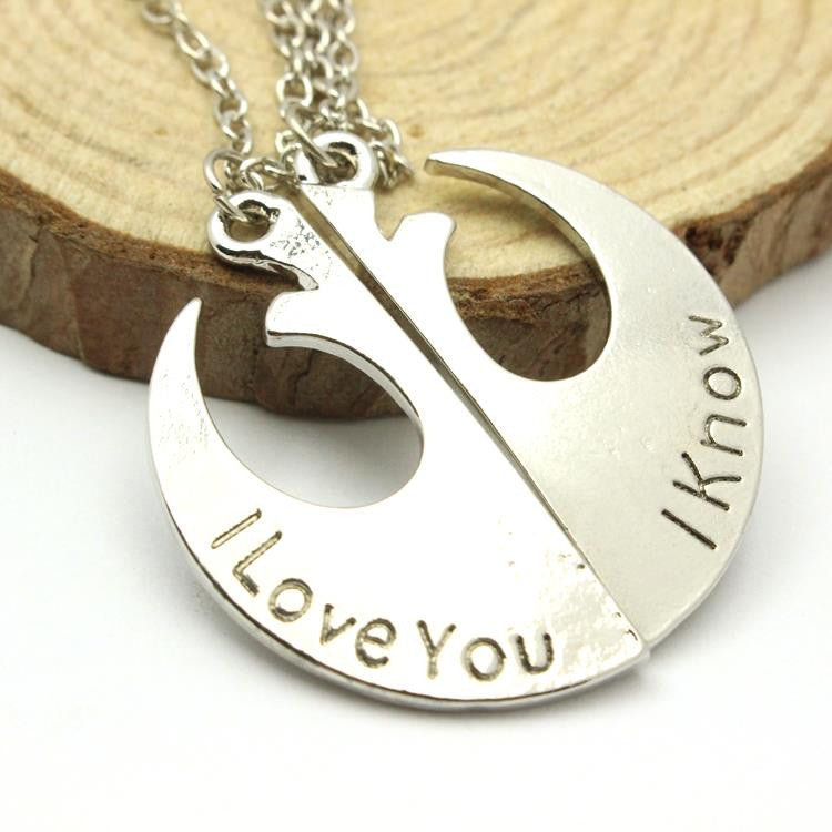 Star Wars Rebel Insignia Love couples Necklace A5-6-XL-428