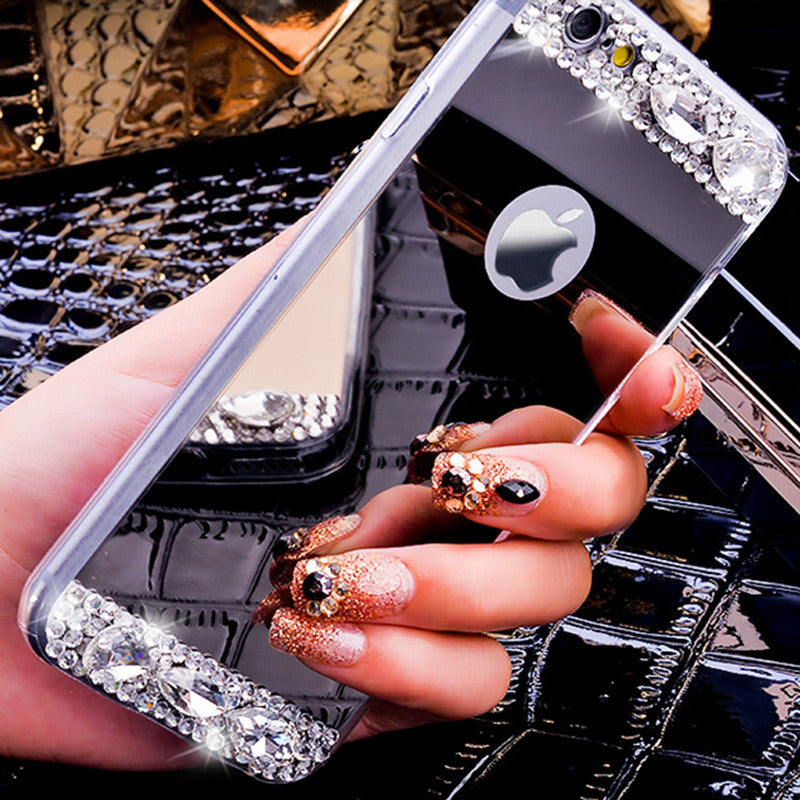 6S Luxury Diamond Glitter Mirror Case For Apple iPhone 6 6s