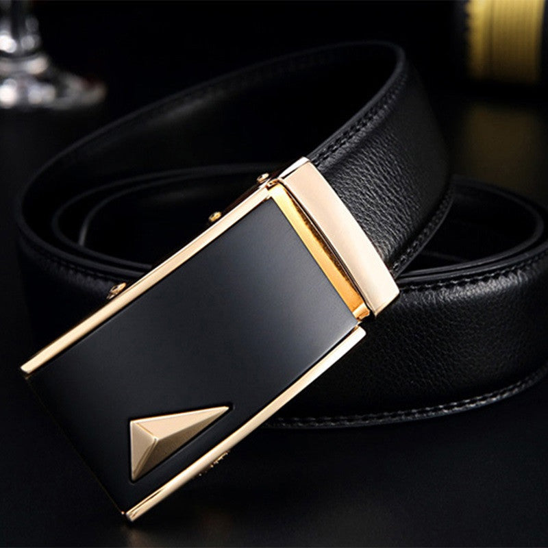 New 21 style 2016 men belt luxury automatic buckle leather belts