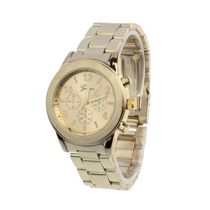 Women  Stainless Steel Quartz Wrist Watch