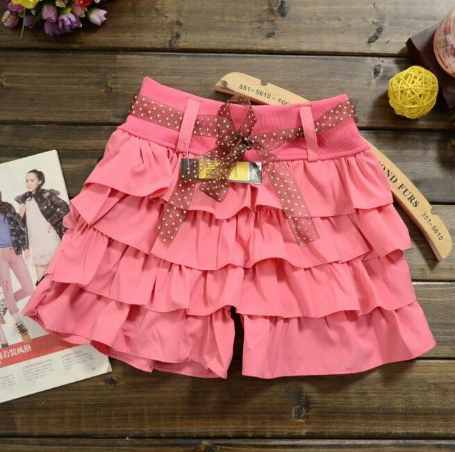 Summer latest fashion casual women's models cake candy color women shorts skirts 2016 fashion