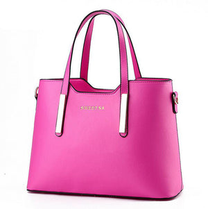 Women Top-handle Bag Shoulder Bags Leather Handbags